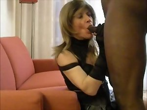 Experienced transsexual banged by 19 years old BBC