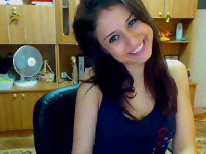 Stunning Brazilian Student Stripping On Cam