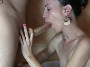 A Blameless Dirty wife - Mouth and Feet