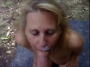 Solid Head #34 (Outdoors on her knees where she Belongs)