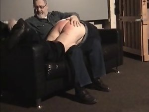 Elder Daddy spanked by Onkel