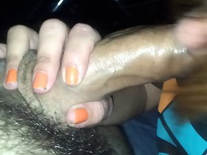 Portuguese dick sucking insede the car
