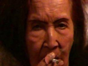 Lecher granny smoking ad masturbating. Amateur