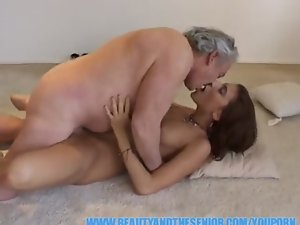 YouPorn - Fatty older bastard bangs a lewd 18yo girl