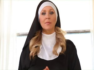 Nun Handjob (Julia)