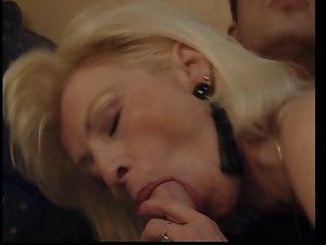 FRENCH GRANNY EVA DESTROYED BY A HUGE WHITE Penis (ANAL)
