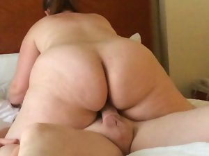 My PAWG slutty wife riding her internet friend in ATL.