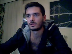 Sensual Webcam Greek Lad Is Jerking His Xxl big cock