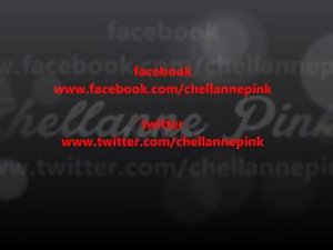 out first Advert for our shop www.chellannepink.co.uk