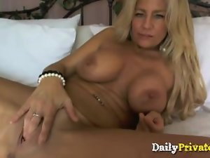 Ultimate luscious blond filthy bitch Ginger Todd large melons