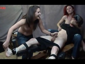 captured for cum and tickle torture