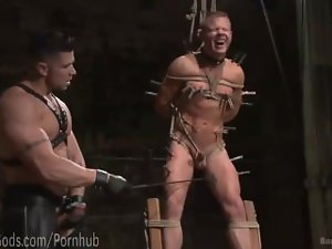House Dom Bangs New Slave Lad