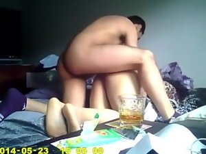 Some raunchy dude banging friends slutty wife