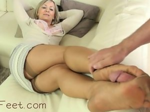 Alasfeet Stocking Feet and Cum