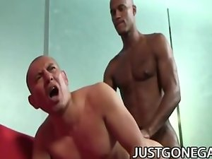 Billy Long and Antonio Moreno: Latino Daddy Expanded By Scary Ebony Penis