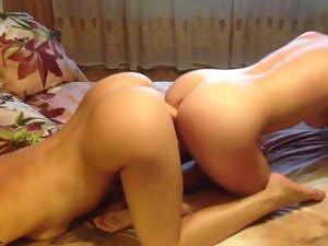 Lovely REAL, PASSIONATE Lesbo PORN
