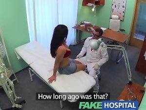 FakeHospital Chesty luscious seductive mom helps the doctor relieve