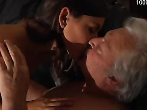 Sensual girlfriend first cock sucking