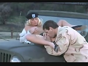 Filthy Army Chick Gets Banged Rough