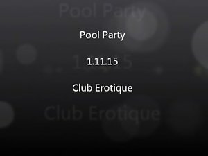 Club Erotic Pool Party