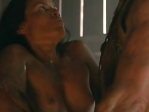 Katrina Law Topless Spartacus
