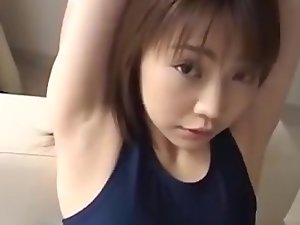 Armpit Fetish - Sensual japanese Pit Caressing and Tickling