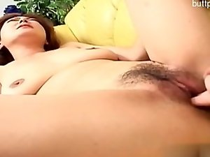 Randy married woman butthole sex