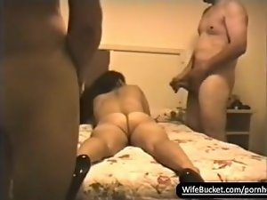 Perfect attractive latina dirty wife in a swinger party