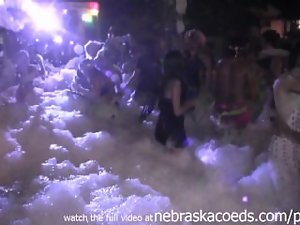 crazy foam party key west fantasy fest