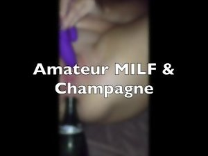 Amateur Cougar & A Champagne Bottle