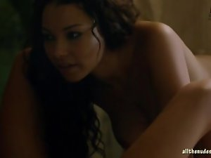 Hannah New and Jessica Parker Kennedy Naked Black Sails s02e03