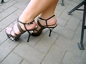 diamonds high heels