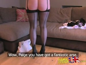 FakeAgentUK Rimming fellatio and banging with stunning English amateur