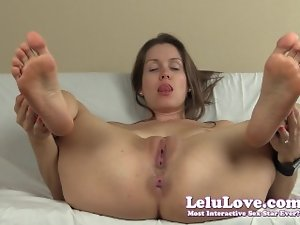 Lelu Love-Spreading Slit Stunning anal Soles JOE