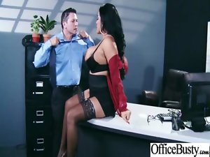Large melons Sexual Office Lass Get Sex Play At Work video-18