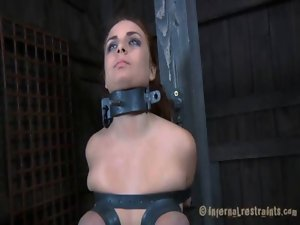 Clamping beauty&#039_s fantasic juggs
