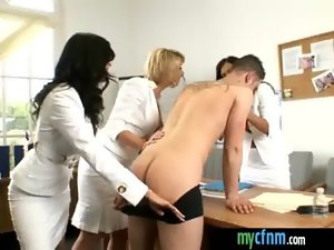 CFNM Group sex orgy dirty party 22