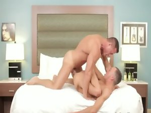 Romantic gay anus fond