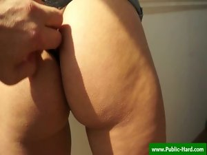 Sex in public with strangers - horny porn @ www.public-hard.com 09