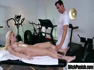 Masseur Give Enjoyment And Hadcore Sex To Vixen Lewd Client movie-36