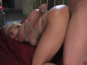 Sexual comely young woman dirty ass banged
