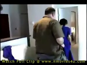 sensual indian wench grinding with white man
