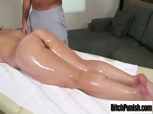 Filthy Masseur Seduce And Fuck Rough Nympho Filthy Client video-21