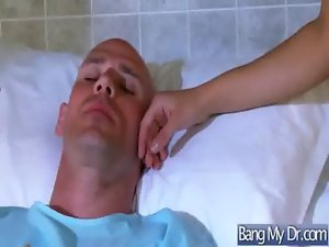 Sex Between Doctor And Whore Chesty Pacient Cutie video-23