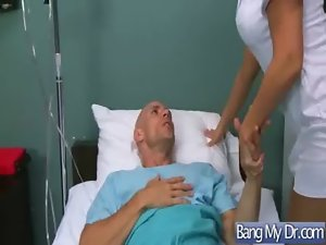 Sex Between Doctor And Bitch Chesty Pacient Girlie video-27