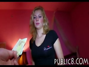 Czech girlie hammered with a lecher dude in exchange for cash