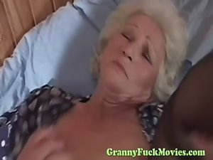 Prick starved grandma
