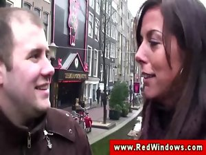 Natural dutch prostitute muff eaten after bj
