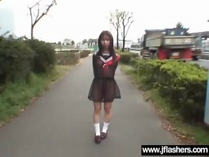 Lecher Asian Young lady Flash Body And Get Brutal Banged clip-35