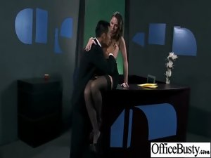 Big melons Whore Office Cutie Get Horny Sex Practice clip-20